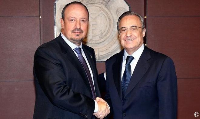 Chu tich Perez: 'Benitez hay cho Ronaldo du bi neu muon' hinh anh 1