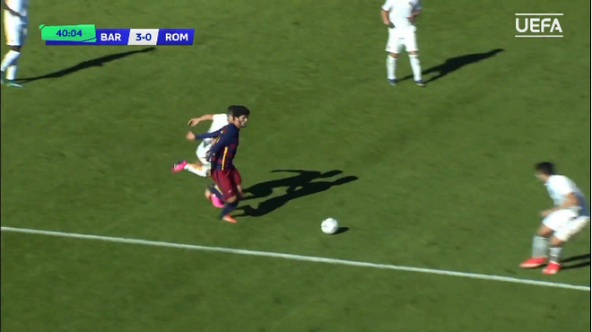 Sao tre Barca solo ghi ban nhu Messi hinh anh