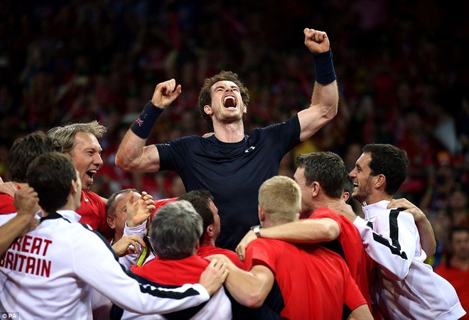 Andy Murray giup DT tennis Anh vo dich Davis Cup hinh anh 3