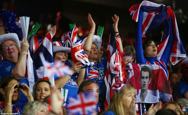 Andy Murray giup DT tennis Anh vo dich Davis Cup hinh anh 5