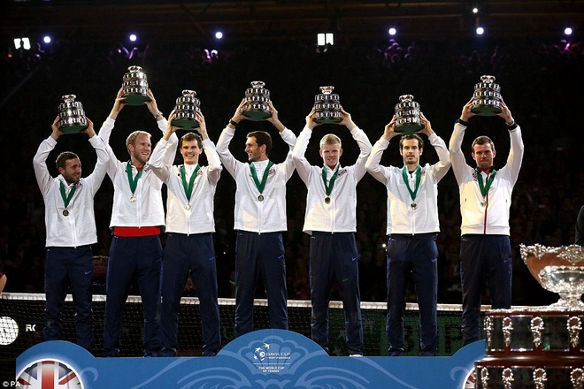 Andy Murray giup DT tennis Anh vo dich Davis Cup hinh anh 8