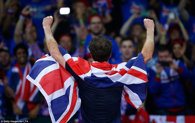 Andy Murray giup DT tennis Anh vo dich Davis Cup hinh anh 6