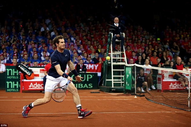 Andy Murray giup DT tennis Anh vo dich Davis Cup hinh anh 1