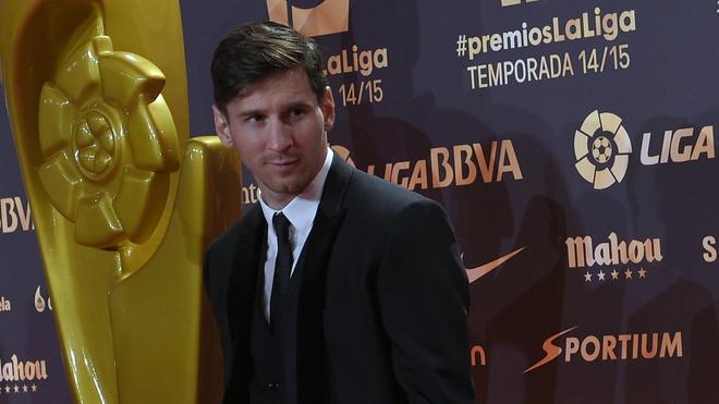 Messi - cau thu hay nhat La Liga 2014/2015 hinh anh