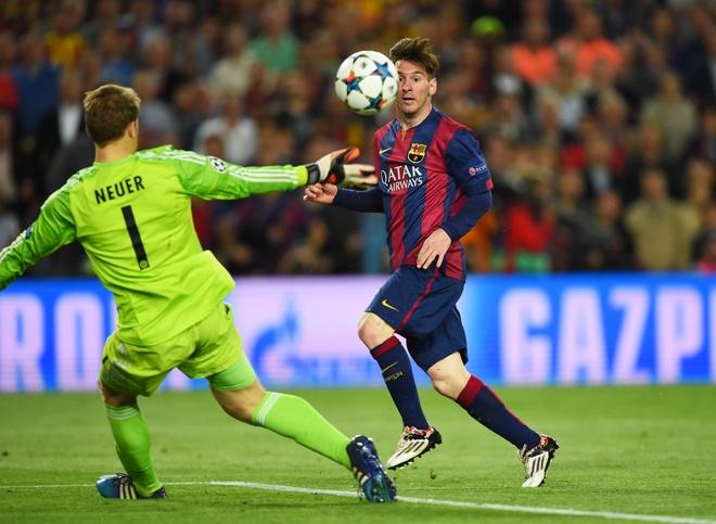 Messi la hung than so mot cua cac doi bong Duc hinh anh 1