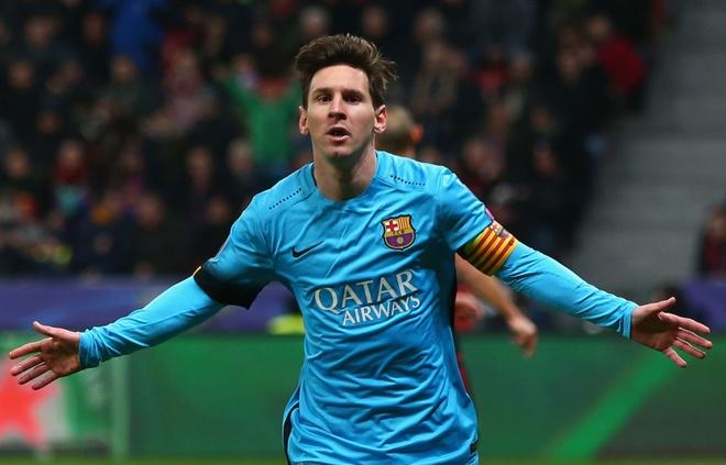 Messi la hung than so mot cua cac doi bong Duc hinh anh