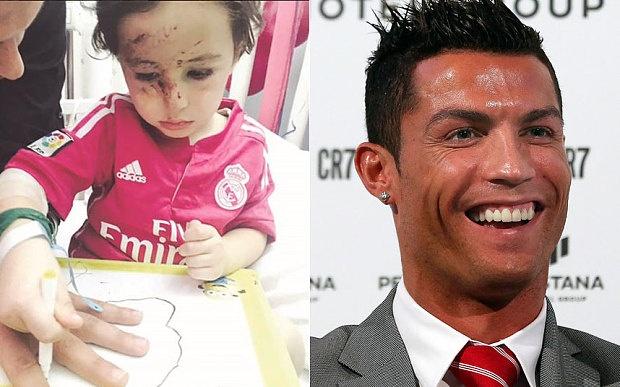 Nan nhan vu danh bom khoc nuc no khi gap Ronaldo hinh anh