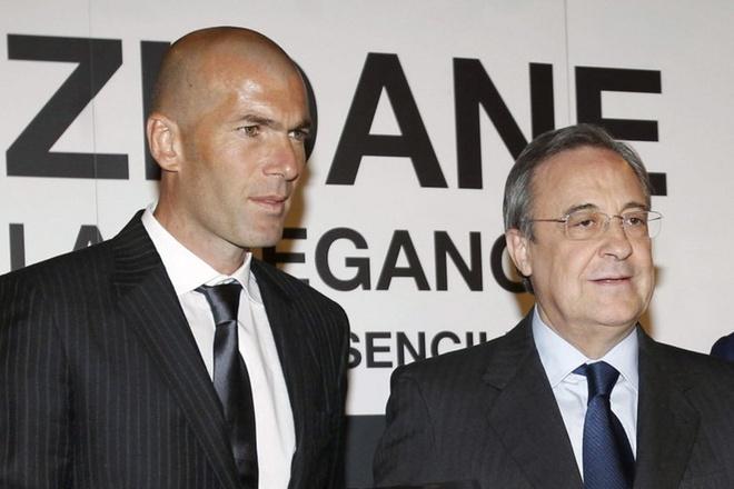 Vi tuong lai Real, Zidane khong nen nhan loi Perez luc nay hinh anh