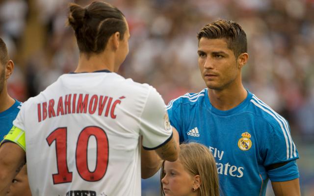 Ronaldo va Ibra - hai ngoi sao ngao man hang dau chau Au hinh anh