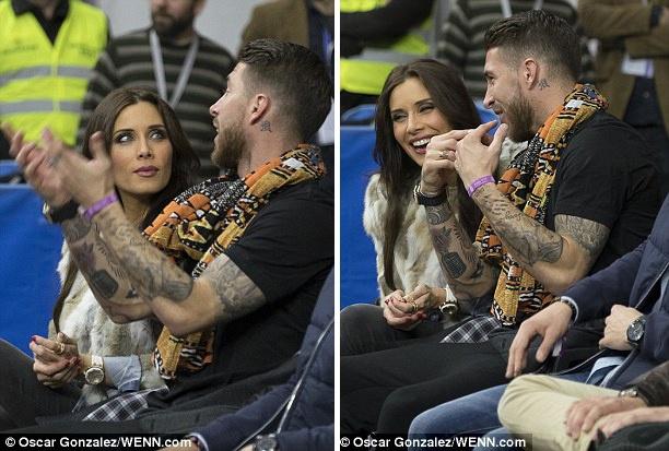 Ramos dua ban gai xem tran bong ro Real - Barca hinh anh 1