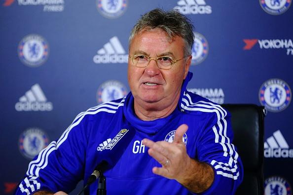 HLV Hiddink yeu cau ca doi Chelsea tap lam thu linh hinh anh