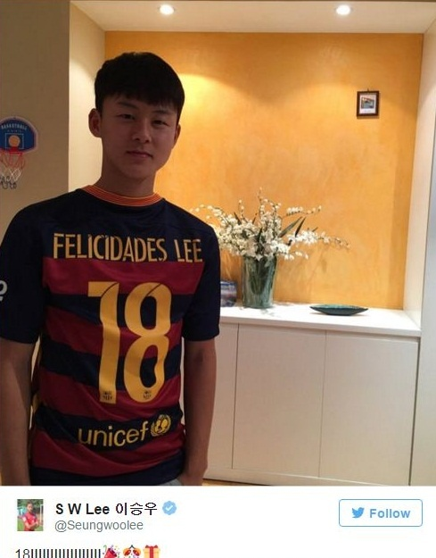 Long trung thanh cua 'Messi Han Quoc' voi Barcelona hinh anh 3