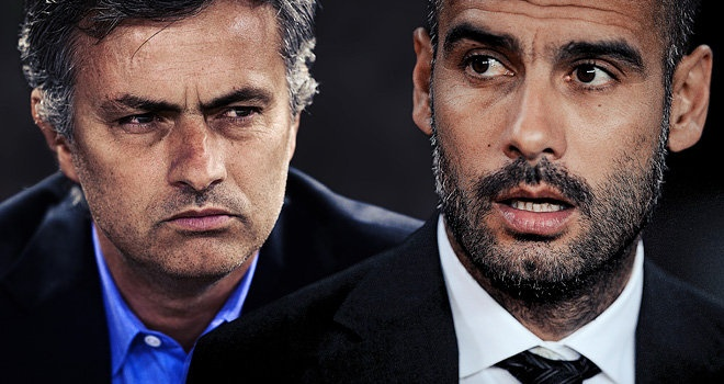 Cap kinh dich Pep - Mourinho hen tai dau o Trung Quoc hinh anh
