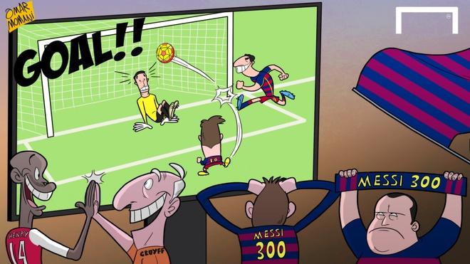 Tinh than dong doi lai chung to Messi la thien tai hinh anh