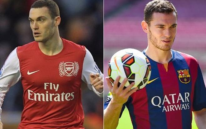 Cac ngoi sao tung khoac ao ca Barcelona va Arsenal hinh anh 9