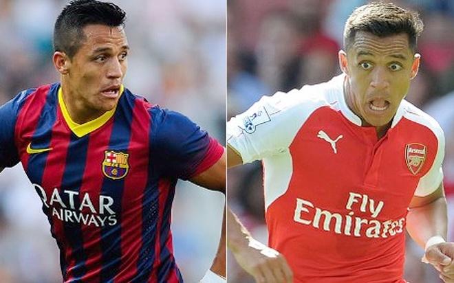 Cac ngoi sao tung khoac ao ca Barcelona va Arsenal hinh anh 10
