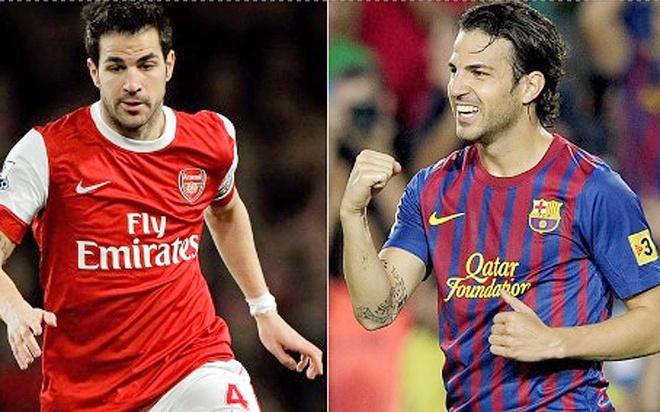 Cac ngoi sao tung khoac ao ca Barcelona va Arsenal hinh anh 6