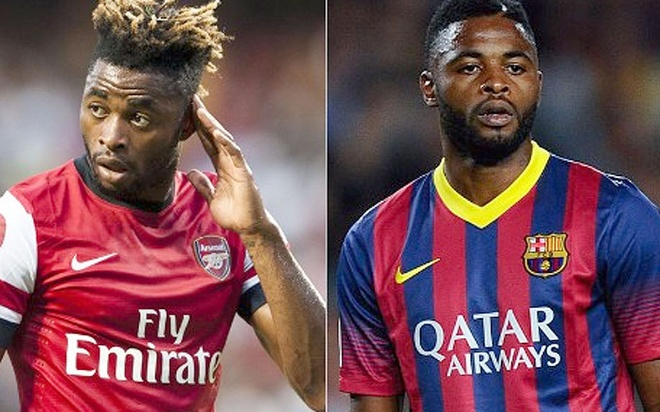 Cac ngoi sao tung khoac ao ca Barcelona va Arsenal hinh anh 8