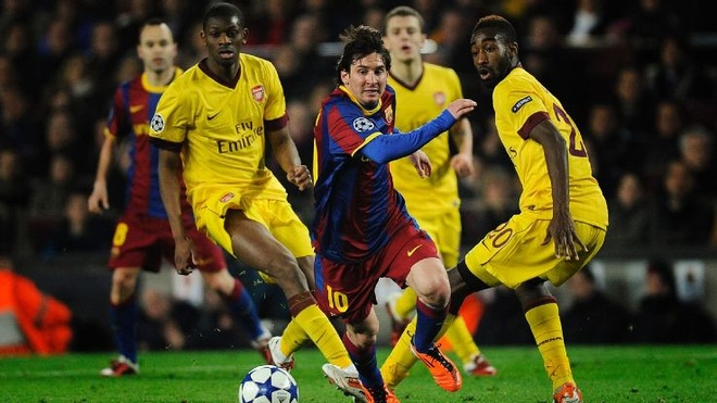 Dau Barcelona, Arsenal can tai hien tinh than 2011 hinh anh 2