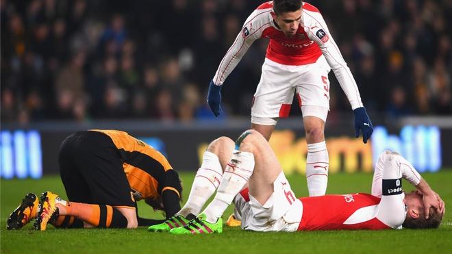Arsenal lo lang voi hang loat chan thuong hinh anh 1