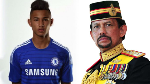 Chau ruot Quoc vuong Brunei gia nhap Leicester hinh anh