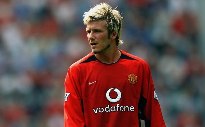 David Beckham tro lai thi dau trong mau ao huyen thoai MU hinh anh