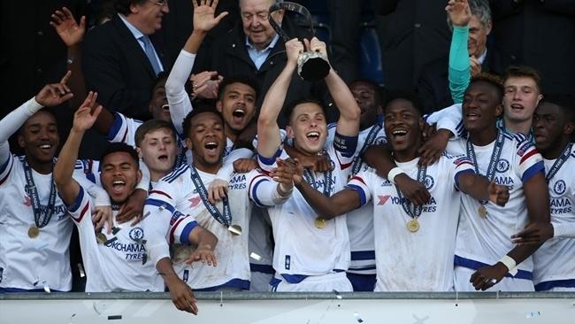 U19 Chelsea vo dich Champions League tre anh 1