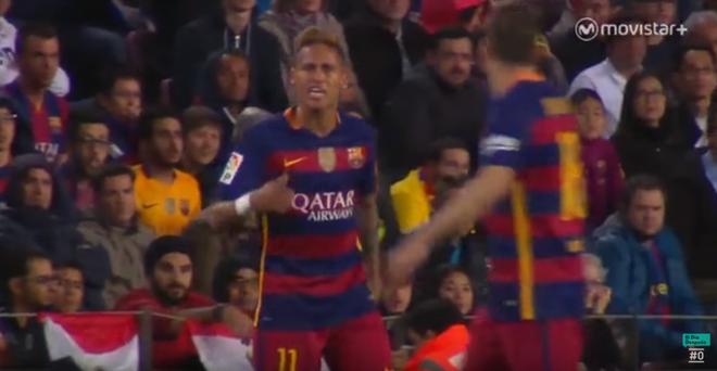 Neymar quat mang Jordi Alba hinh anh
