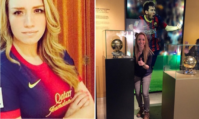ronaldo cap ke voi fan Barcelona anh 2