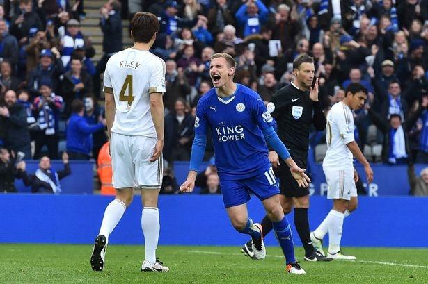 Leicester thang dam nhat tu dau mua khi Vardy vang mat hinh anh 15