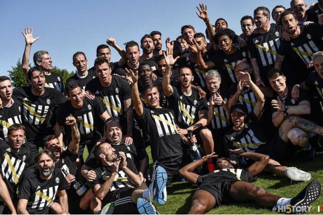Juventus an mung chuc vo dich Serie A thu 5 lien tiep hinh anh 4