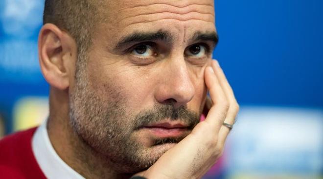 Pep Guardiola che mat co qua cao va hoc tro qua cham hinh anh