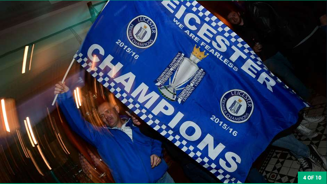 Fan Leicester trang dem an mung chien thang hinh anh 14