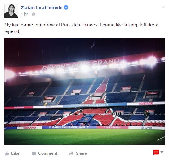 Ibrahimovic: 'Toi den nhu vi vua, di nhu huyen thoai' hinh anh 1
