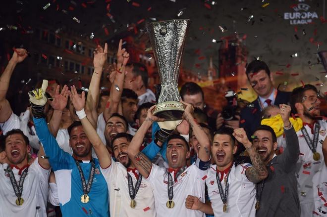 Sevilla tam trong mua tien nho vo dich Europa League hinh anh 1