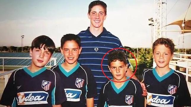 Thoi tho au dang yeu cua sao Real va Atletico Madrid hinh anh 9