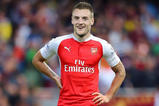 3 cach sap xep doi hinh cua Arsenal khi co Vardy hinh anh