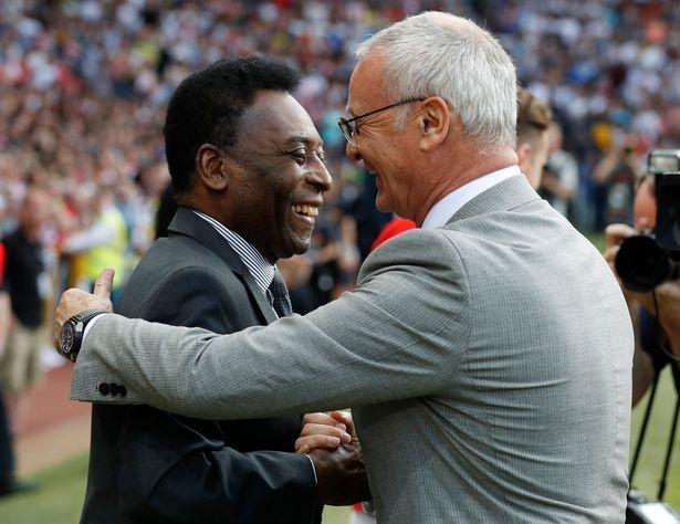 Mourinho, Pele banh bao di xem tuyen Anh thang doi Ranieri hinh anh 2