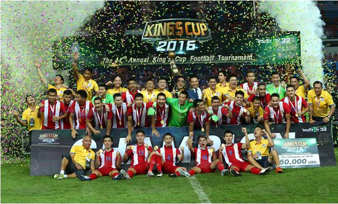 Ha guc Jordan, Thai Lan len ngoi vo dich King's Cup hinh anh 1