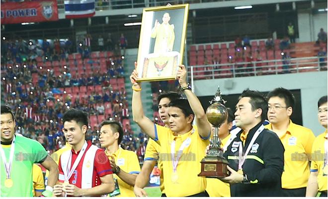 Ha guc Jordan, Thai Lan len ngoi vo dich King's Cup hinh anh