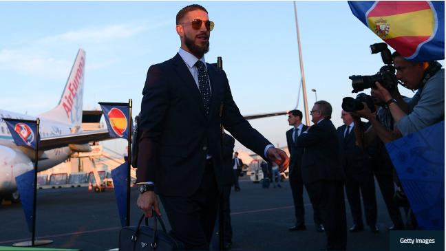 Sergio Ramos xuat hien nhu sao phim hanh dong hinh anh 3
