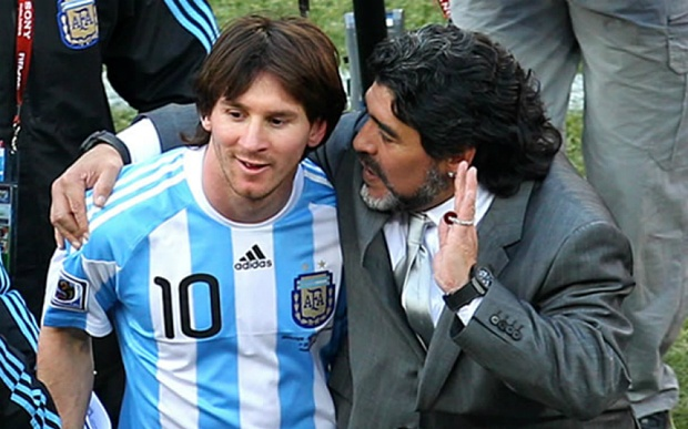 Maradona thang thung che Messi khong co to chat thu linh hinh anh