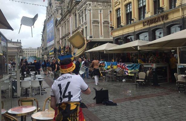 Bao luc Euro leo thang: CDV Duc va Ukraine choang nhau hinh anh 1
