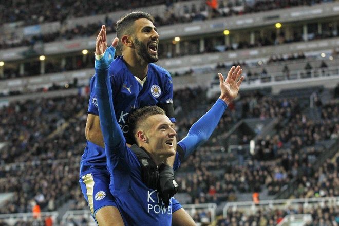 Vardy chinh thuc gia han voi Leicester, phot lo Arsenal hinh anh 1