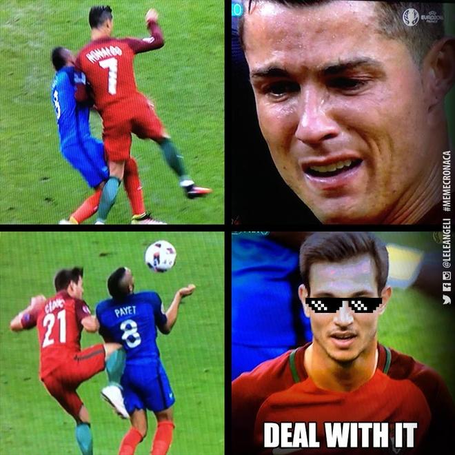 Payet bi cam ghet vi lam Ronaldo chan thuong hinh anh 2