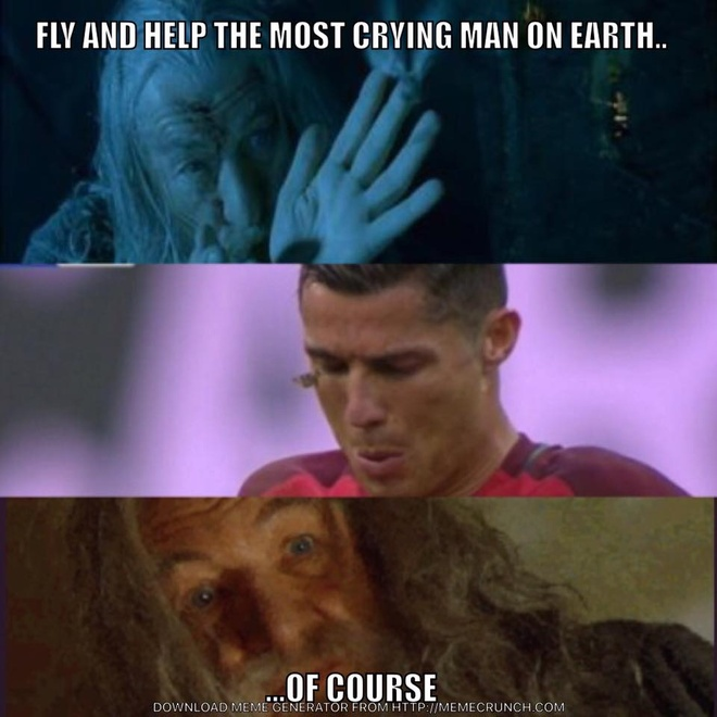 Anh vui ve chu buom dau tren mat Ronaldo hinh anh 5
