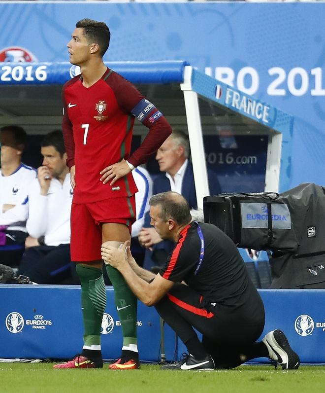 Ronaldo khoc nghen vi chan thuong hinh anh 10
