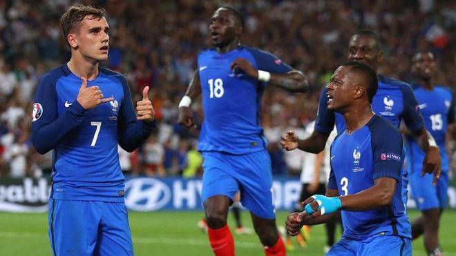Griezmann gianh giai cau thu hay nhat Euro 2016 hinh anh 1