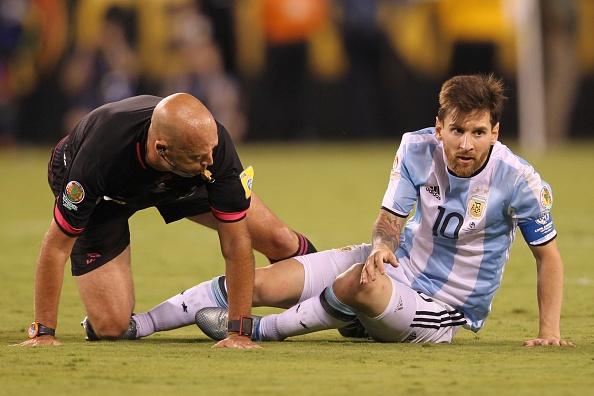 Trong tai chung ket Copa America khen Messi co hoc hinh anh