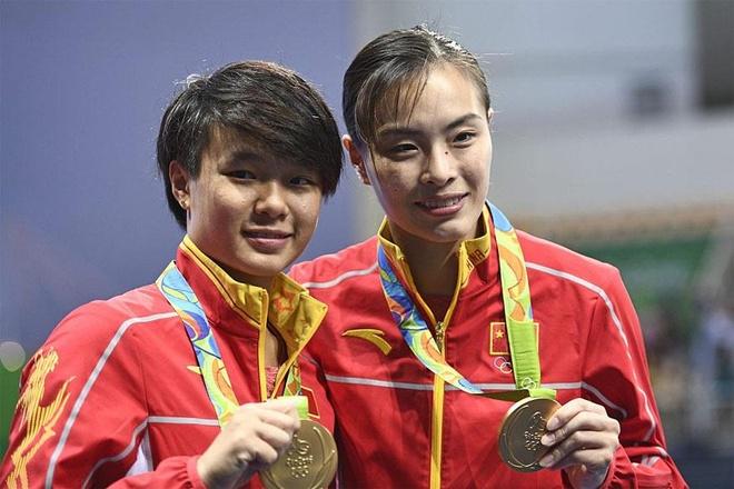 Trung Quoc co nu VDV gia nhat gianh HCV nhay cau Olympics hinh anh 1